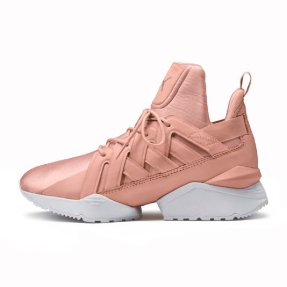 639f7a6fa33247 Puma Muse Echo Satin Women s Sneakers